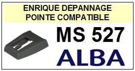 ALBA Platine  MS527    Pointe de lecture Compatible diamant sphérique