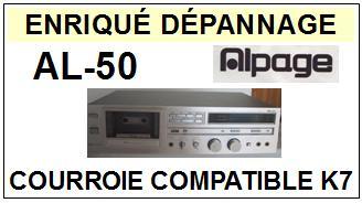 ALPAGE-AL50 AL-50-COURROIES-COMPATIBLES