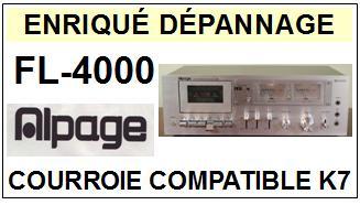 ALPAGE-FL4000 FL-4000-COURROIES-ET-KITS-COURROIES-COMPATIBLES