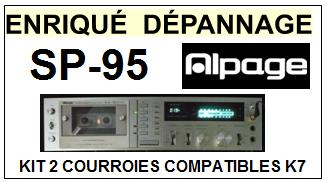 ALPAGE-SP95 SP-95-COURROIES-ET-KITS-COURROIES-COMPATIBLES