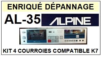 ALPINE-AL35 AL-35-COURROIES-ET-KITS-COURROIES-COMPATIBLES