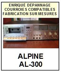 ALPINE-AL300 AL-300-COURROIES-ET-KITS-COURROIES-COMPATIBLES