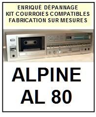 ALPINE-AL80-COURROIES-ET-KITS-COURROIES-COMPATIBLES