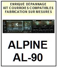 ALPINE-AL90 AL-90-COURROIES-ET-KITS-COURROIES-COMPATIBLES