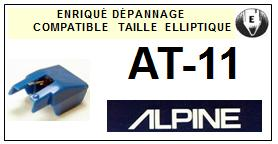 ALPINE AT11 AT-11 Pointe Diamant Elliptique <br><small>se 2014-01</small>