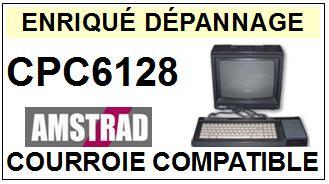 AMSTRAD CPC6128 LECTEUR DISQUETTE Courroie  <BR><small>a 2014-01</small>