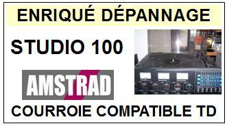 AMSTRAD-STUDIO 100-COURROIES-ET-KITS-COURROIES-COMPATIBLES