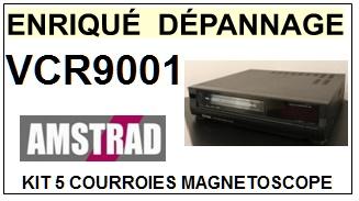 AMSTRAD-VCR9001-COURROIES-ET-KITS-COURROIES-COMPATIBLES