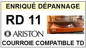 ARISTON-RD11-COURROIES-ET-KITS-COURROIES-COMPATIBLES