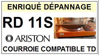 ARISTON-RD11S-COURROIES-ET-KITS-COURROIES-COMPATIBLES