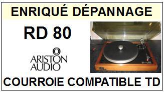 ARISTON-RD80-COURROIES-ET-KITS-COURROIES-COMPATIBLES