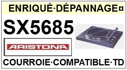 ARISTONA-SX5685-COURROIES-ET-KITS-COURROIES-COMPATIBLES