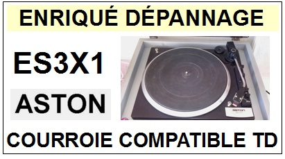 ASTON-ES3X1 STEREO INTEGRATED SYSTEM-COURROIES-ET-KITS-COURROIES-COMPATIBLES