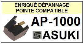 ASUKI-AP1000  AP-1000-POINTES-DE-LECTURE-DIAMANTS-SAPHIRS-COMPATIBLES