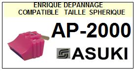 ASUKI-AP2000  AP-2000-POINTES-DE-LECTURE-DIAMANTS-SAPHIRS-COMPATIBLES