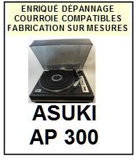 ASUKI-AP300-COURROIES-ET-KITS-COURROIES-COMPATIBLES