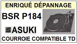 ASUKI-BSR P184-COURROIES-ET-KITS-COURROIES-COMPATIBLES
