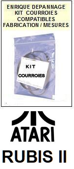 ATARI-RUBIS II RUBIS 2-COURROIES-ET-KITS-COURROIES-COMPATIBLES