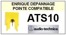 AUDIO TECHNICA ATS10 ATS-10 Pointe Diamant sphérique <small>13-09</small>