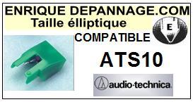 AUDIO TECHNICA ATS10 ATS-10 Pointe Diamant Elliptique <small>13-09</small>