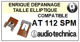 AUDIO TECHNICA-AT112SPM-POINTES-DE-LECTURE-DIAMANTS-SAPHIRS-COMPATIBLES