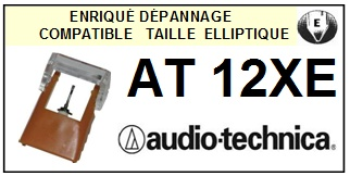 AUDIO TECHNICA-AT12XE-POINTES-DE-LECTURE-DIAMANTS-SAPHIRS-COMPATIBLES