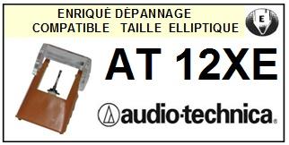 AUDIO TECHNICA-AT12XE-POINTES-DE-LECTURE-DIAMANTS-SAPHIRS-COMPATIBLES