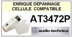 AUDIO TECHNICA <br>AT3472P  Cellule diamant Sphérique <BR><small>se+cel 2014-11</small>