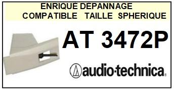 AUDIO TECHNICA-AT3472P-POINTES-DE-LECTURE-DIAMANTS-SAPHIRS-COMPATIBLES