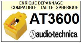 AUDIO TECHNICA<br> AT3600  Pointe Diamant sphérique <BR><small>se 2015-04</small>