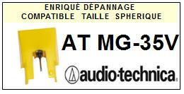 AUDIO TECHNICA<br> ATMG35V AT MG-35V Pointe Diamant sphérique <BR><small>se 2015-04</small>