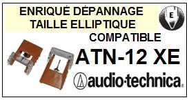 AUDIO TECHNICA ATN12XE ATN-12XE Pointe Diamant sphérique <small>13-08</small>