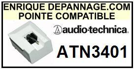 AUDIO TECHNICA-ATN3401-POINTES-DE-LECTURE-DIAMANTS-SAPHIRS-COMPATIBLES