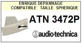 AUDIO TECHNICA ATN3472P ATN-3472P Pointe Diamant sphérique <small>13-08</small>