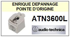 AUDIO TECHNICA ATN3600L ATN-3600L Pointe Diamant sphérique <small> 2015-03</small>