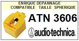 AUDIO TECHNICA<br> ATN3606  Pointe Diamant sphérique <BR><small>se 2014-11</small>