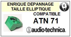AUDIO TECHNICA<br> ATN71 Pointe Diamant Elliptique <br><small>se 2015-01</small>