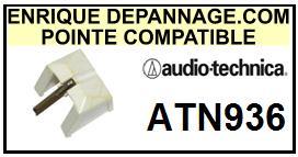 AUDIO TECHNICA<br> ATN936  Pointe (stylus) Diamant sphérique <BR><small> 2015-05</small>