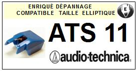 AUDIO TECHNICA ATS11  Pointe Diamant Elliptique <br><small>se 2014-09</small>