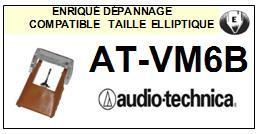 AUDIO TECHNICA<br> ATVM6B AT-VM6B Pointe Diamant Elliptique <br><small>se 2015-03</small>