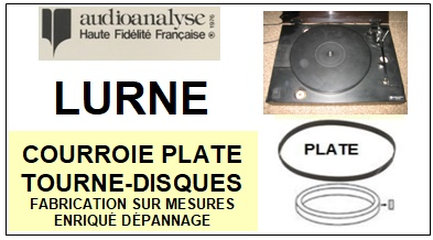 AUDIOANALYSE-LURNE-COURROIES-ET-KITS-COURROIES-COMPATIBLES