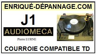 AUDIOMECA-J1 PIERRE LURNE-COURROIES-ET-KITS-COURROIES-COMPATIBLES