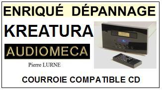 AUDIOMECA-KREATURA PIERRE LURNE-COURROIES-ET-KITS-COURROIES-COMPATIBLES