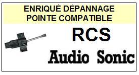AUDIO SONIC-RCS-POINTES-DE-LECTURE-DIAMANTS-SAPHIRS-COMPATIBLES