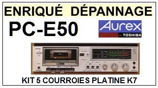 AUREX-PCE50 PC-E50-COURROIES-ET-KITS-COURROIES-COMPATIBLES