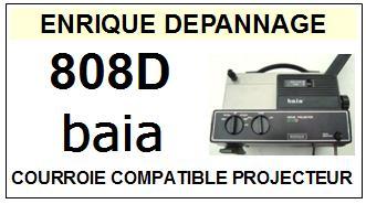 BAIA-808D MOVIE PROJECTOR-COURROIES-ET-KITS-COURROIES-COMPATIBLES