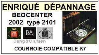 BANG OLUFSEN-BEOCENTER 2002 TYPE 2101-COURROIES-ET-KITS-COURROIES-COMPATIBLES