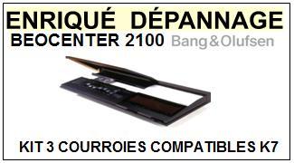 BANG OLUFSEN-BEOCENTER 2100-COURROIES-ET-KITS-COURROIES-COMPATIBLES
