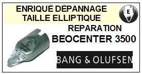 BANG OLUFSEN PLATINE  BEOCENTER 3500    Réparation : échange cantilever alu et pose  Diamant sphérique