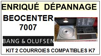BANG OLUFSEN-BEOCENTER 7007-COURROIES-ET-KITS-COURROIES-COMPATIBLES